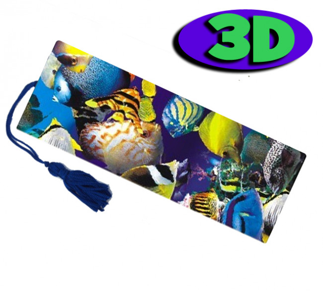 Wholesale 3d bookmarks tropical fish design quality for Wholesale tropical fish