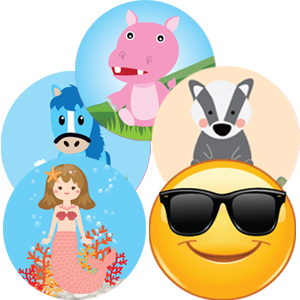 Kool Stickers By Themes