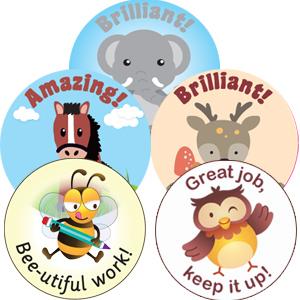 Kool Kids Scented Stickers