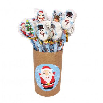 Wholesale Stationery | Christmas Mini Notepads. Retail Display Box