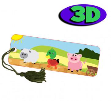 Wholesale 3D Bookmarks | Cute Baby Dragon Design