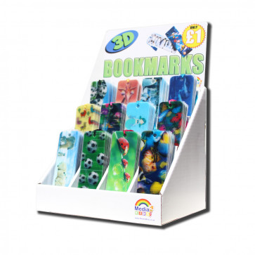 Bookmarks Stand | Retail Display Unit for 3D Bookmarks.