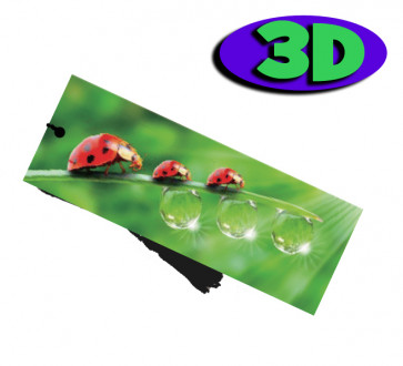 Wholesale 3D Bookmarks | Lady Bird Design, Quality Bookmarks
