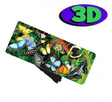 Wholesale Bookmarks | Beautiful Butterflies 3D Bookmarks