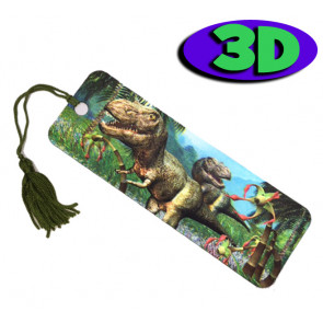 Wholesale Bookmarks | 3D Dinosaur Bookmarks