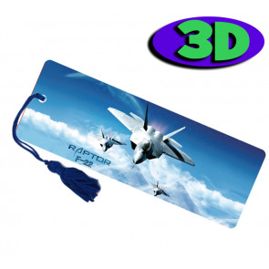 Wholesale 3D Bookmarks | Jet Plane Design, Quality Bookmarks
