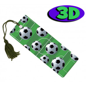 Wholesale 3D Bookmarks | Football Frenzy Design, Quality Bookmarks