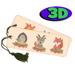 Wholesale 3D Bookmarks | Cute Baby Dragon Design