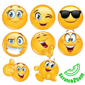 Kool Kids Stickers | Kool Smiles, Emoji Scented Wholesale Stickers for Trade
