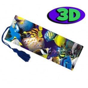 Wholesale 3D Bookmarks | Tropical Fish Design, Quality Bookmarks