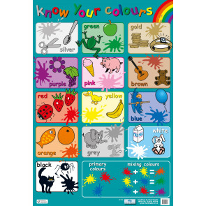 Know Your Colours Wholesale Wall Charts